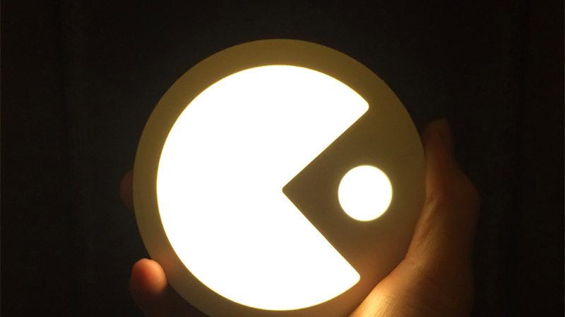 食鬼人體自動感應LED燈(暖光,充電型)