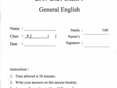 會員投稿(311)19/20小二英文第一次考試(共12頁)