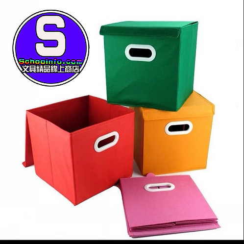 有蓋收納盒 五色選擇