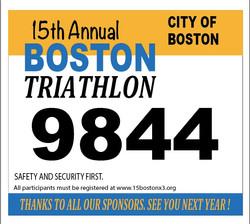 Boston Marathon vest