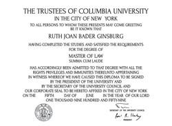 Diploma-Columbia