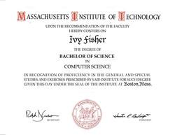 MIT diploma