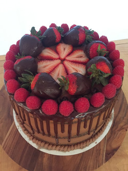 chocolate strawberry raspberry