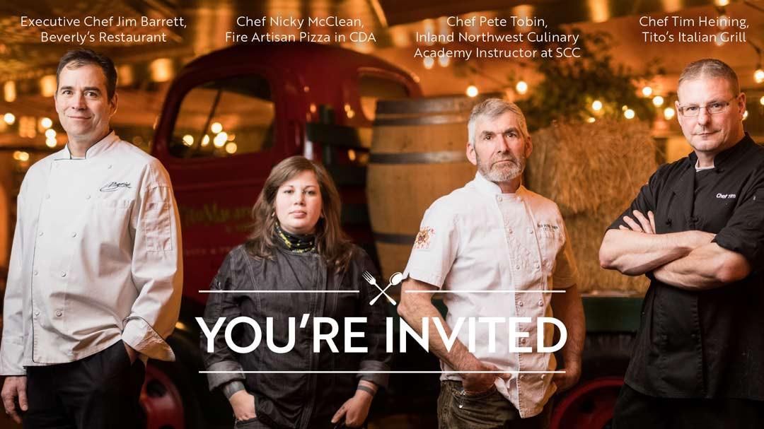 2018 Care Affair invitation - front