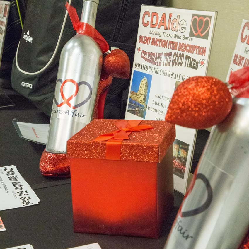 Some silent auction items