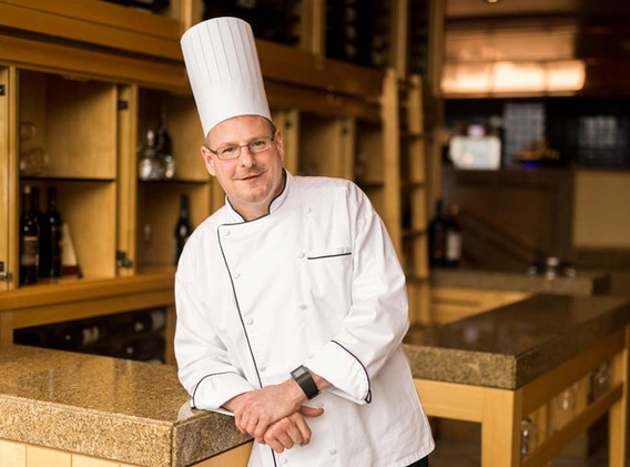 One of our featured chefs