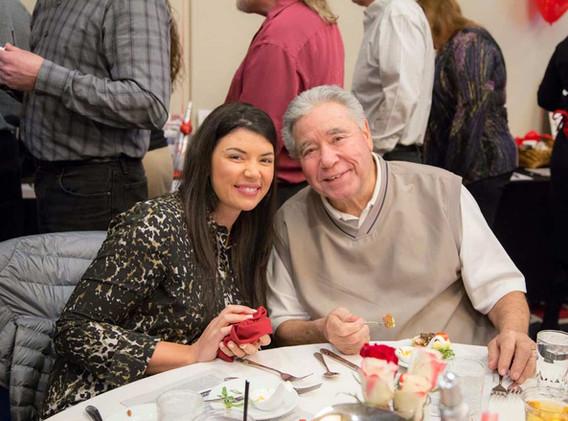 Renee Bordelon of Renee's on Ramsey and her dad Joe Bordelon