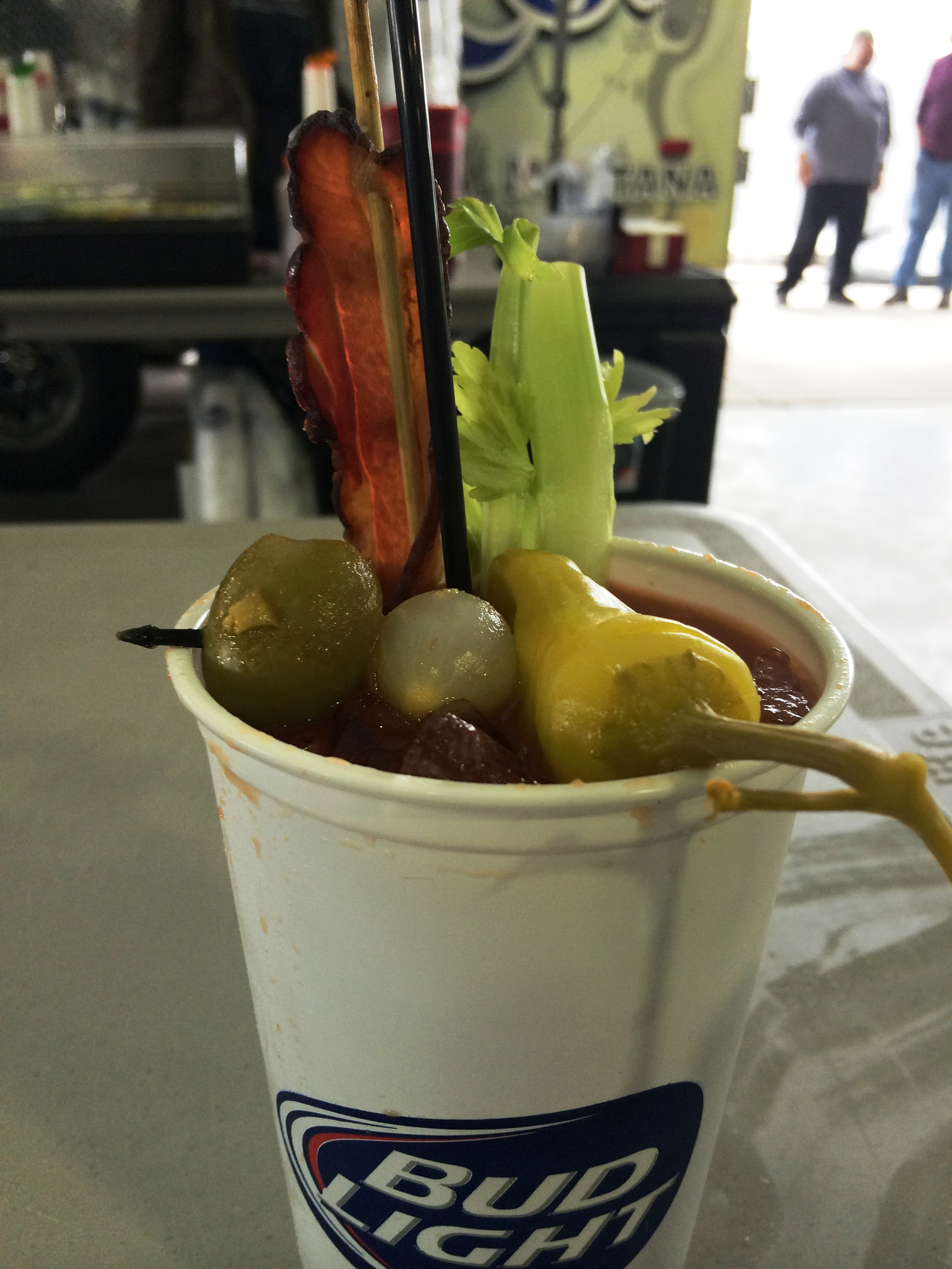 Bacon Bloody Mary? Yes please.