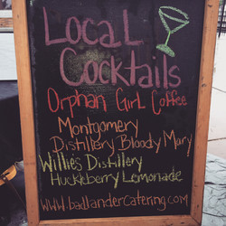 We love serving local spirits!
