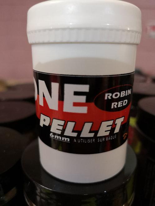 ONE PELLET ROBIN RED 6MM