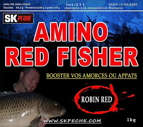 AMINO RED FISHER 1KG  ROBN RED