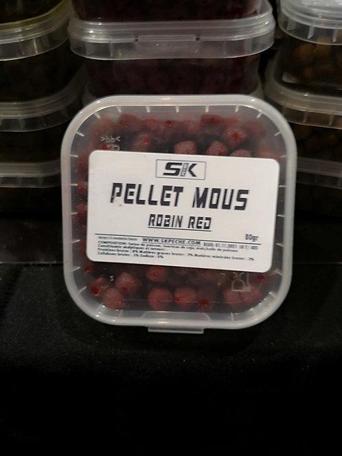 PELLET MOUS ROBIN RED