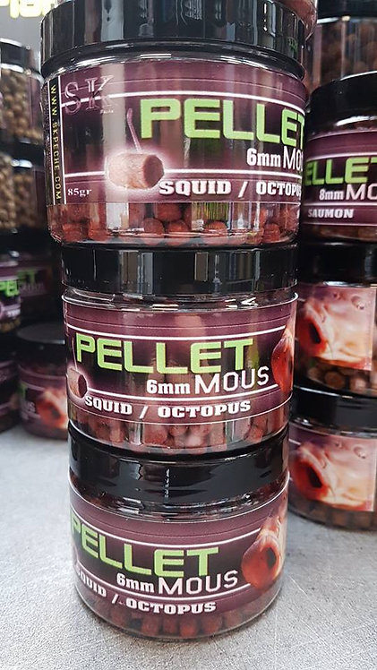 PELLETS MOUS SAUMON  6MM