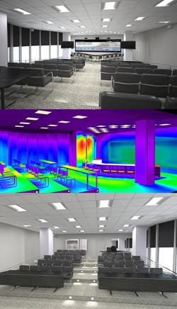 Центр Визуального Проектирования. Расчет освещенности. Визуализация.