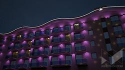 Образовательный центр Сириус  г.Сочи. Архитектурное освещение.