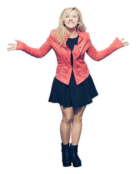 PNGPIX-COM-Happy-Young-Woman-Standing-In