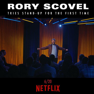 SIE's Next Design for Television Premieres on Netflix for Rory Scovel June 20th