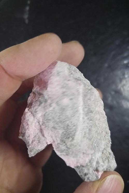 Thulite cristallisée, Mine Jeffrey, Asbestos