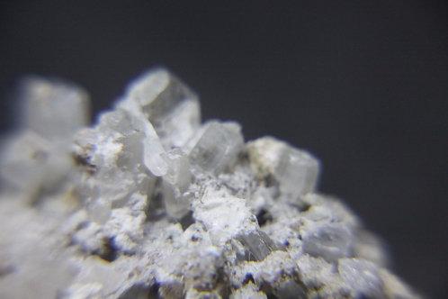 Natrolite, Siderite et autres, Mont-St-Hilaire (MSH)