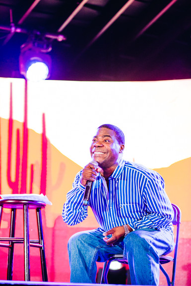 NDG Lights Tracy Morgan at Funny Or Die Junction at SXSW 2016
