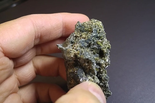 Pectolite, Black Lake, Thetford-Mines, Québec, Canada
