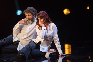 SIE lights Nick Offerman and Megan Mullally for EPIX