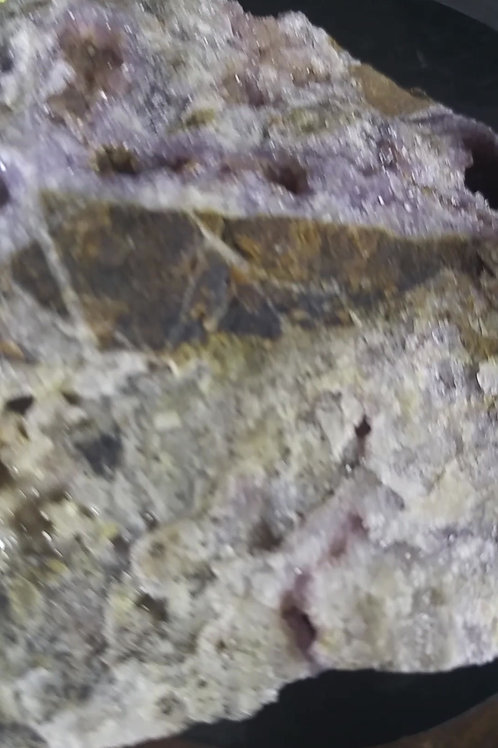 Améthyste et Améthyste hématisée, Mine Blue-Point, Thunder-bay