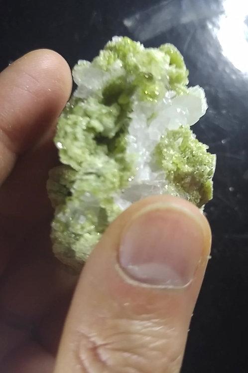 Vesuvianite et Pectolite, Mine Jeffrey, Asbestos