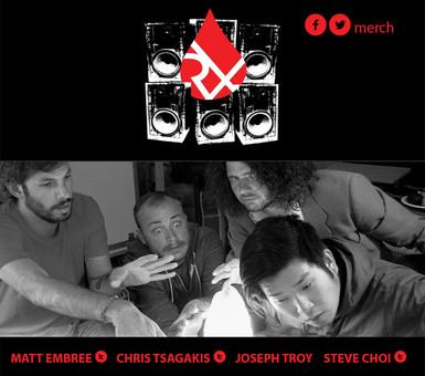 Najafi Design Group Designs Rx Bandits US Tour