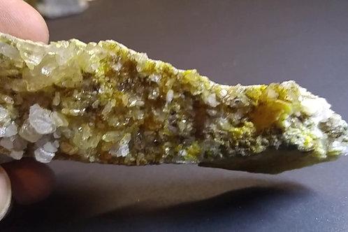 Quartz et Calcite, Warwick,Québec, Canada