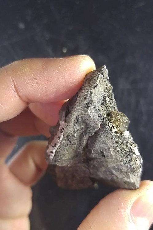 Quartz ''de Champlain'', cap Diamant