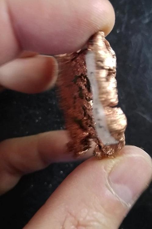 Cuivre natif, Peninsule Keeweenaw, Michigan, U.S.A.