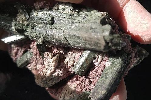Arfvedsonite et Microcline, Girardville
