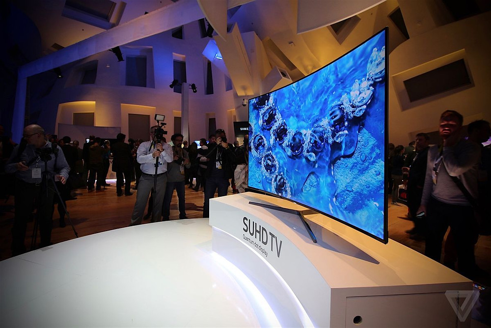 Samsung First Look at CES 2016 lit by NDG!