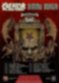 Bloodbath,Hatebreed, Dimmu Borgir, Kreator, Olympia, Paris, 3 décembre 2018, live report, La Légion Underground webzine