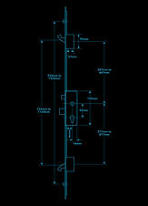 Versa V-MPL Hook & Roller Tech Drawing