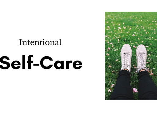 Intentional Self-Care