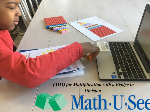 AIM Multiplication with a Bridge to Division by Math-U-See