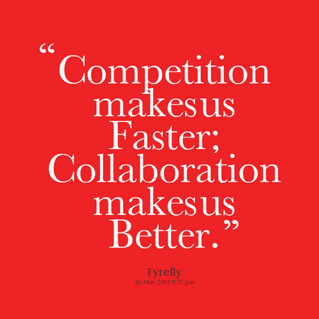 Collaborative Working? Is this just a fancy name for teamwork?