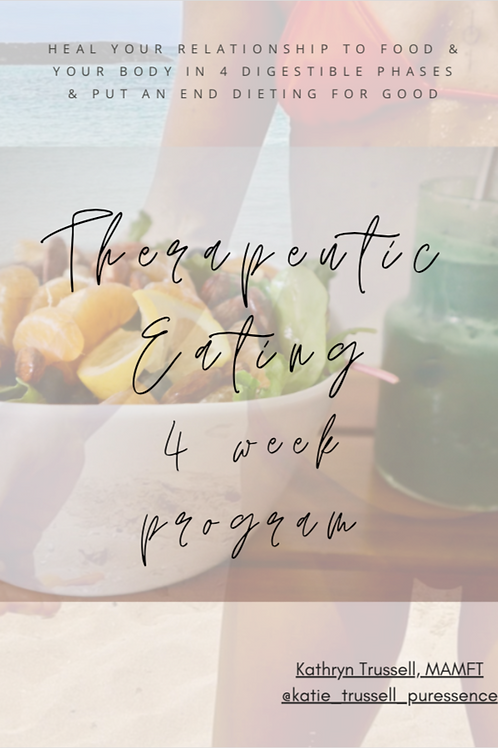 The Therapeutic Eating Program