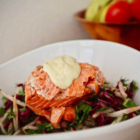 Poached Salmon - the lazy (easy) way