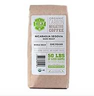 Tiny Footprint Organic Single Origin Coffee - Nicaragua/Dark Roast