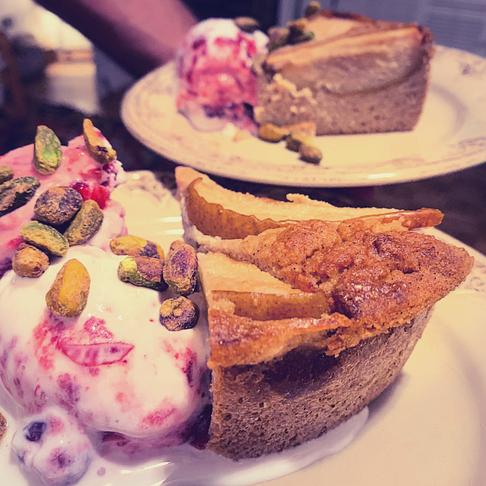 Vegan/Keto Cranberry Coconut *no churn* Cointreau Ice Cream