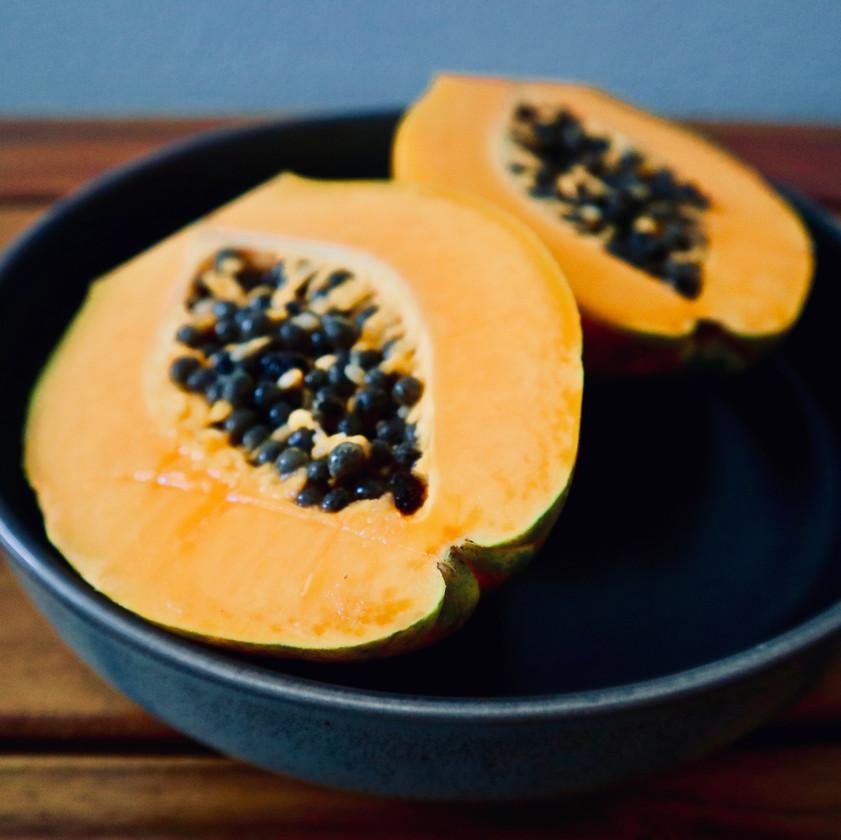 enzymes, papaya, viome, gut intelligence test