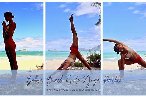 Beachside Yoga Practice