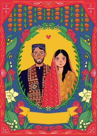 Wedding Card Commission (2020)