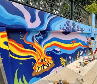 Lansdowne Underpass Mural Project (2021)