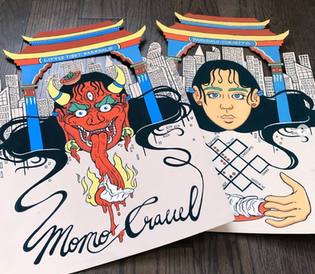 Momo Crawl Mock Poster (2019)