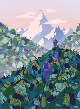 Mountain Climbing and Pollution (2020)