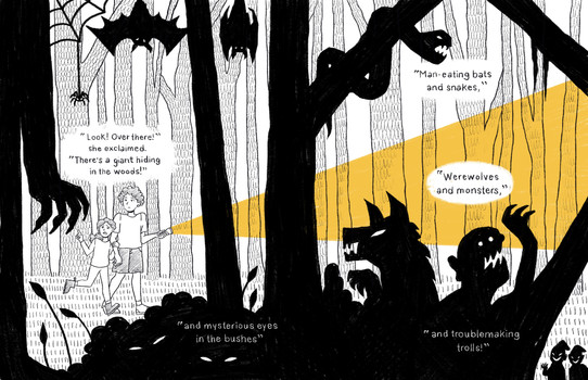 Afraid of the Dark! Pg 3&4